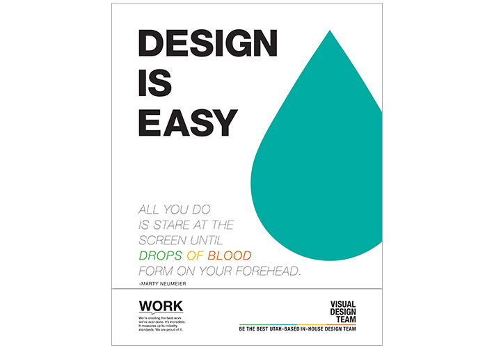 Design Is Easy Poster