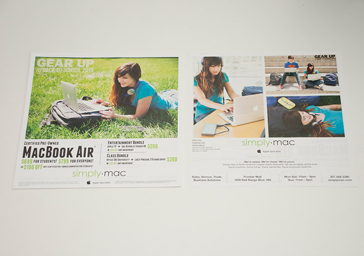 Simply Mac Back to School 2014 Newspaper Insert